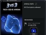 Турнирная арена и список победителей