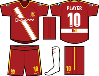 CA Real San Diego Season 1 Home Red