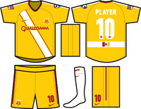 CA Real San Diego Season 1 Home Yellow