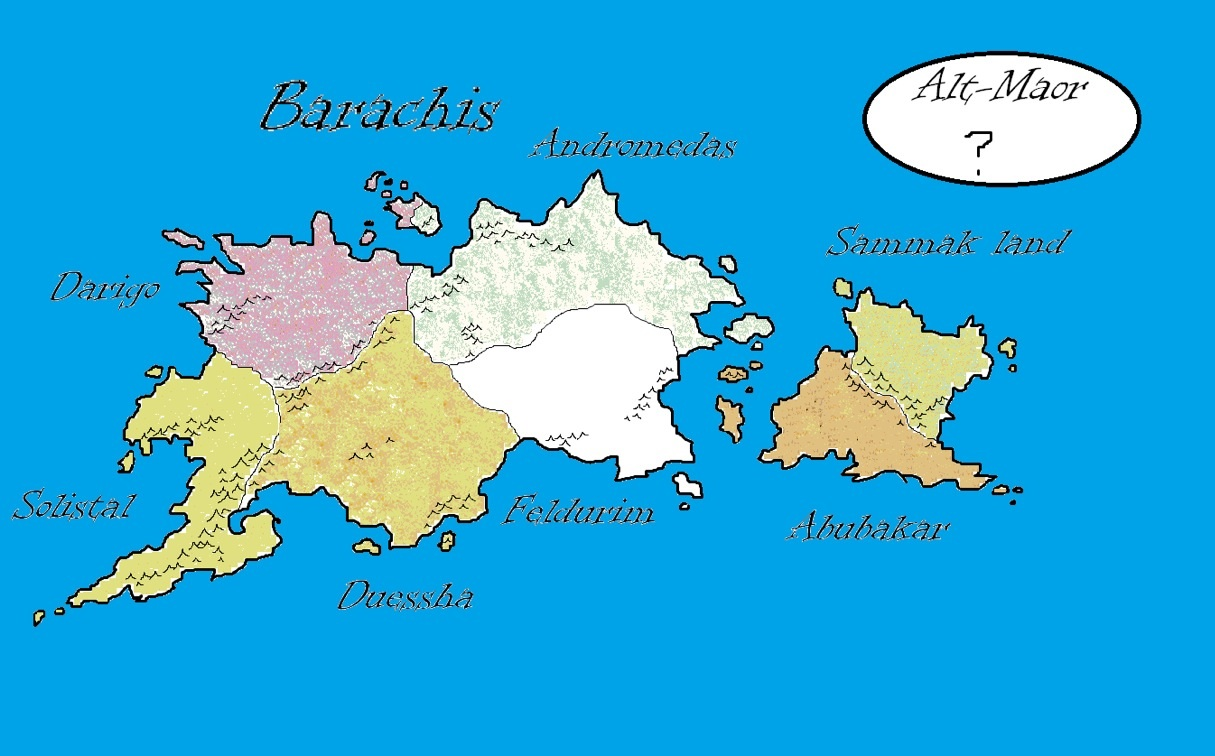 Barachis continents wiki fandom powered by wikia this continent is fiction gumiabroncs Choice Image