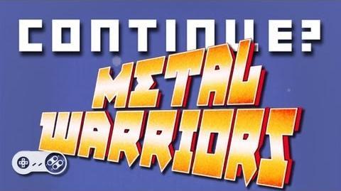 Metal Warriors (SNES) - Continue?