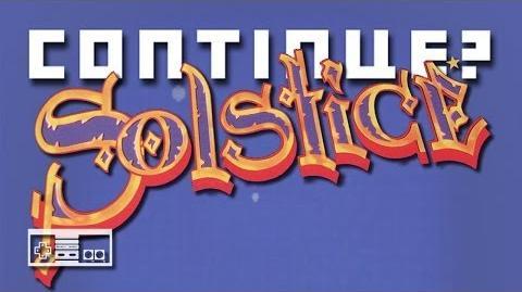 Solstice (Nintendo NES) - Continue?
