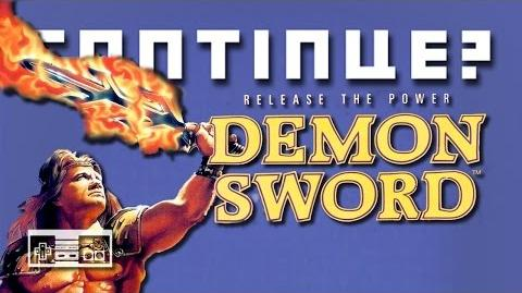 Demon Sword (Nintendo NES) - Continue?