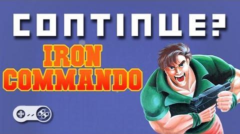 Iron Commando (Super Famicom) - Continue?
