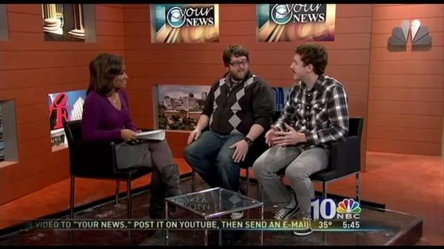 Nick Murphy and Dominic Moschitti on NBC 10