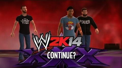 WWE 2K14 - Continue? Entrance