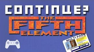 The Fifth Element (PlayStation 1) - Continue?