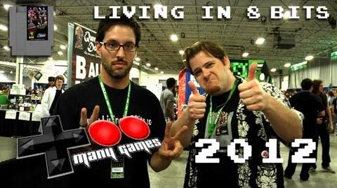 Living in 8 Bits @ Too Many Games 2012