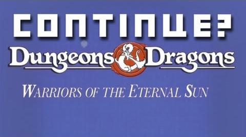 Dungeons & Dragons- Warriors of the Eternal Sun (GEN) - Continue?