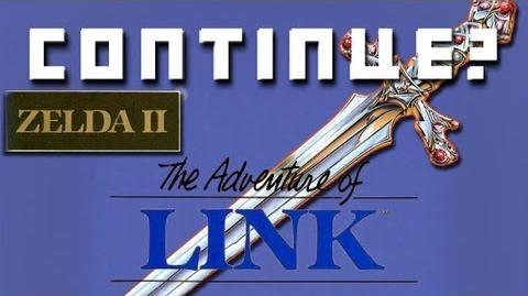 Zelda II- The Adventure of Link (NES) - Continue?