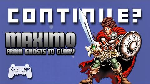 Maximo- From Ghosts to Glory (PS2) - Continue?