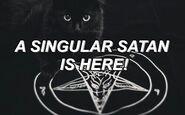 A singular satan