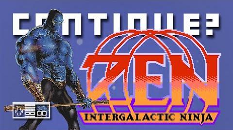 Zen Intergalactic Ninja (NES) - Continue?