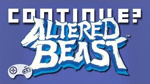 Altered Beast (Sega Genesis) - Continue?