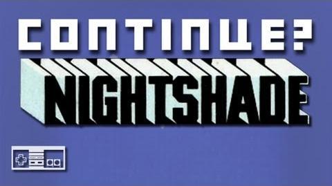 Nightshade (NES) - Continue?
