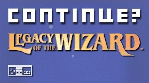 Legacy of the Wizard (Nintendo NES) - Continue?