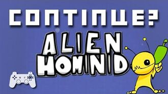 Alien Hominid (PlayStation 2) - Continue?