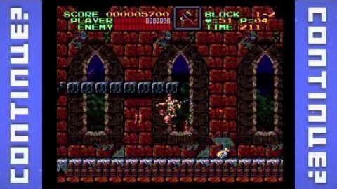 Super Castlevania IV (SNES) - Continue?