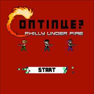 Philly under fire