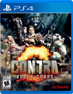 Contra Rogue Corps - (PS4) - 01