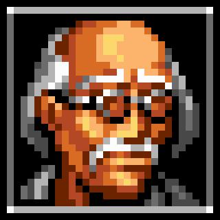 Dr. Geo Mandrake Icon (Hard Corps)