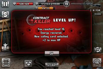 Level up to level 15