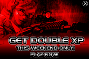 Double XP font( special event)
