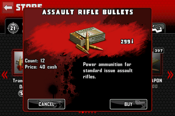 Assault Rifle Bullets