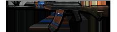 Rifle ak74 unlocked