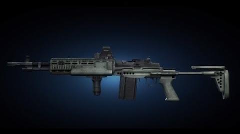 Contract Wars EBR CQB Shooting Test
