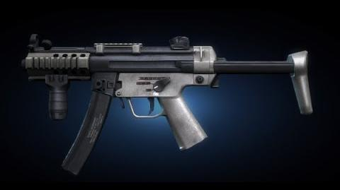 Contract Wars MP5k Shooting Test