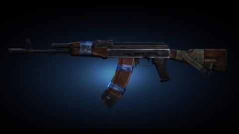 Contract Wars AK-74 Shooting Test