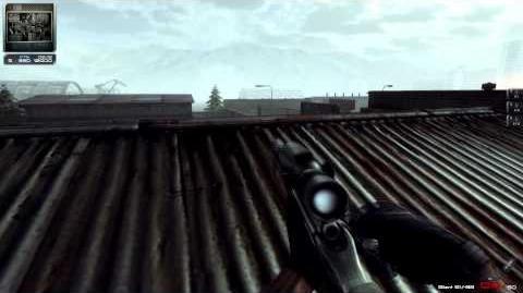 SV98 in-game use