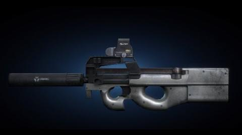 Contract Wars P90 DEVGRU Shooting Test