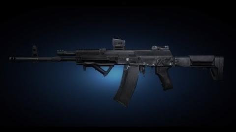 Contract Wars AK-12 Shooting Test
