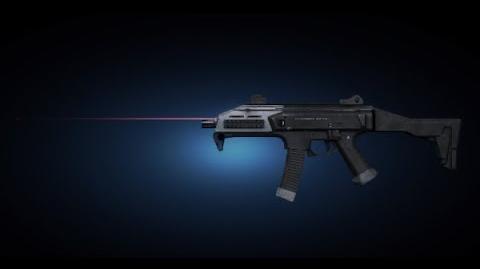 Contract Wars Skorpion Shooting Test