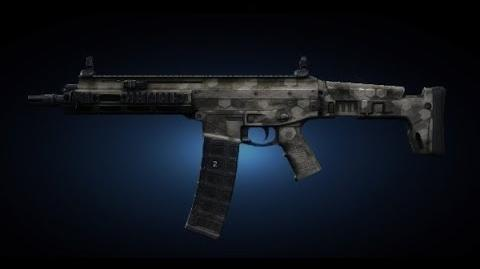 Contract Wars ACR-C Shooting Test