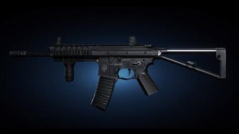 Contract Wars KAC PDW Shooting Test