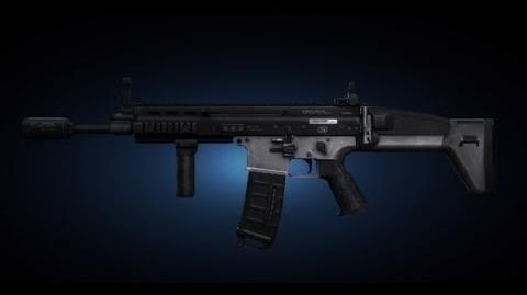 Contract Wars SCAR-L Shooting Test