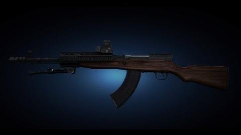 Contract Wars SKS Carbine Shooting Test