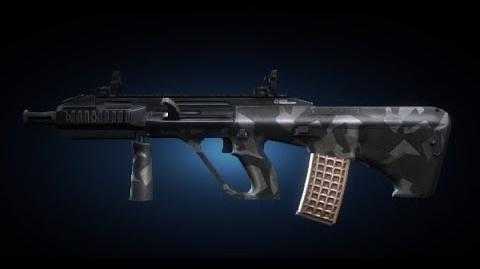 Contract Wars AUG A3 Shooting Test