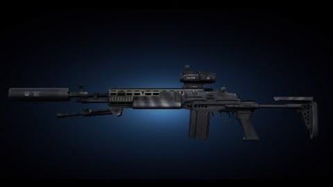 Contract Wars EBR Marksman Shooting Test