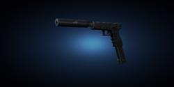 Glock silenced