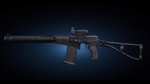 Contract Wars AS VAL Kobra Shooting Test