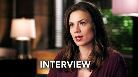 Conviction (ABC) Hayley Atwell Interview HD