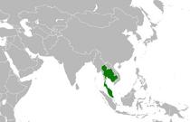 Location of Thailand