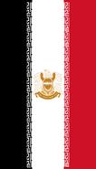 Flag of Qatif downwards