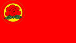 Flag of Socialist Party of Manchuria