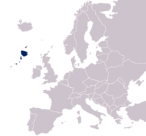 Northersey Within Europe Map