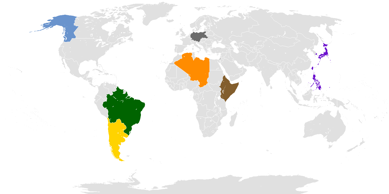 21st Century World Map Nationspng Image